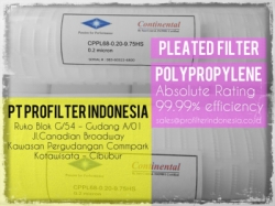 CPPL69 Pleated Cartridge Filter Indonesia  large