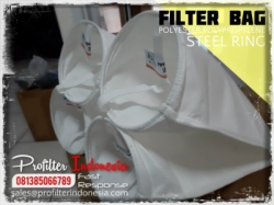 PPSG PESG Steel Ring Filter Bag Indonesia  large
